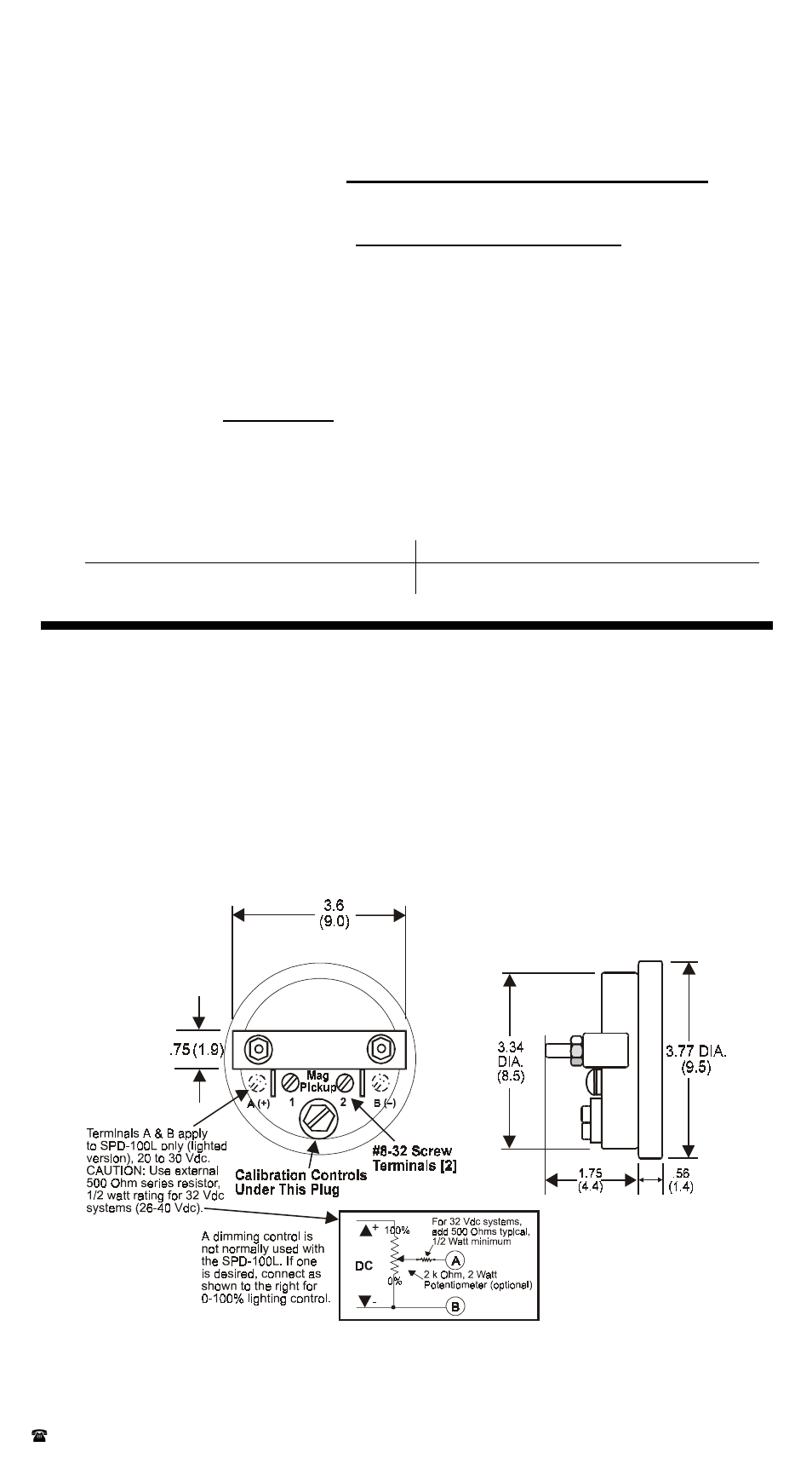 Hz To Rpm >> Outline And Connection Drawing Calculating Signal Frequency In Hz