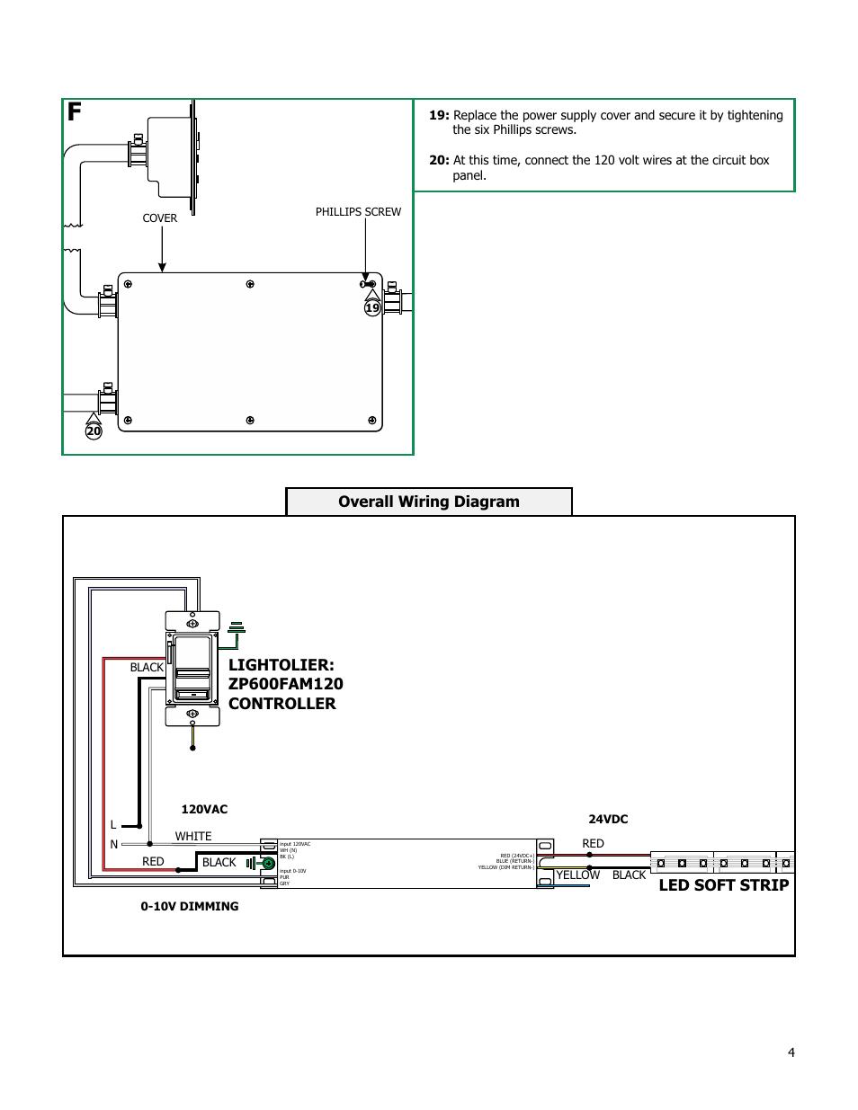 overall wiring diagram edge lighting psb 96w 010 24vdc. Black Bedroom Furniture Sets. Home Design Ideas