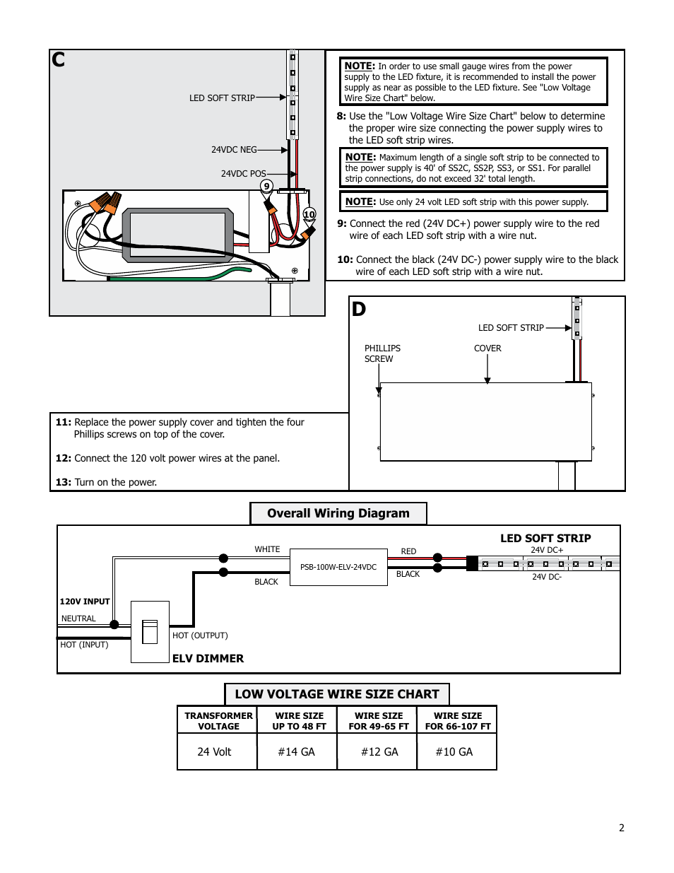 overall wiring diagram low voltage wire size chart edge lighting overall wiring diagram low voltage wire size chart edge lighting psb 100w