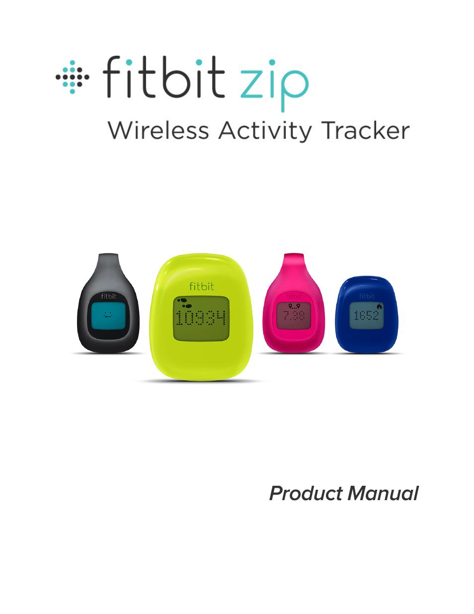 fitbit zip user manual 27 pages rh manualsdir com fitbit zip manuel fitbit zip manually add steps