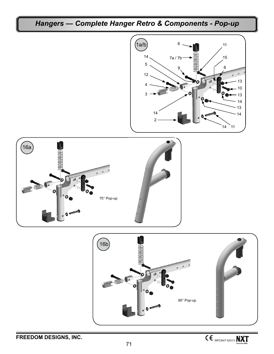 Freedom pop user manual freedompop array hanger retrofit kit pop up freedom designs freedom nxt user rh manualsdir com fandeluxe Images