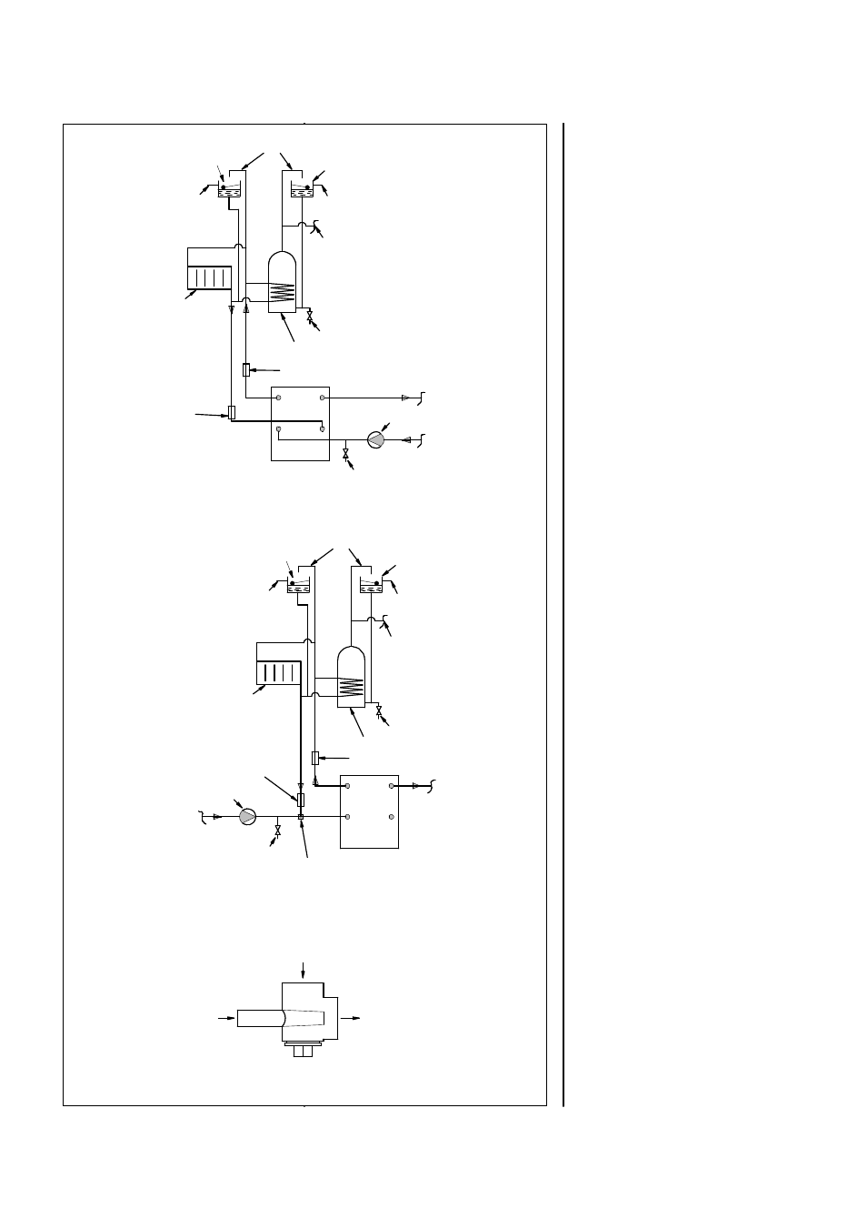 Central heating system, Fig. 6. injector tee | Charnwood Country 8B User  Manual