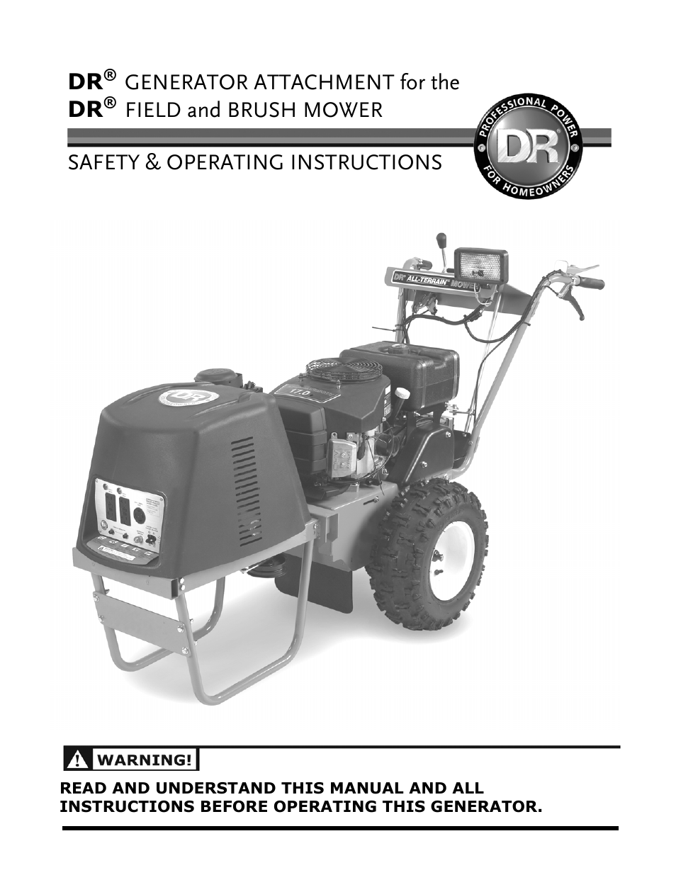 Dr Field And Brush Mower Wiring Diagram from www.manualsdir.com