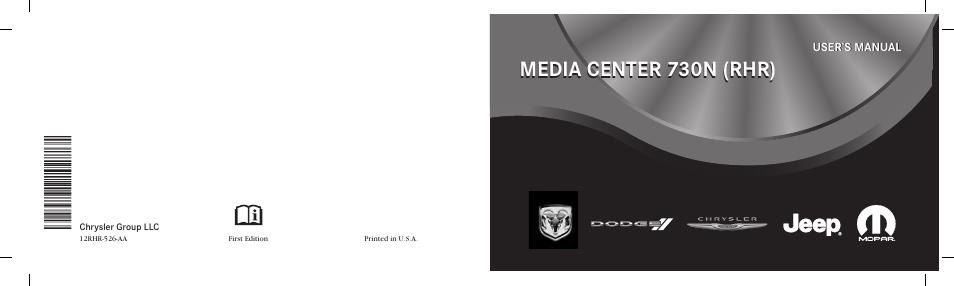 Ram Trucks MEDIA CENTER 730N for Jeep User Manual | 216