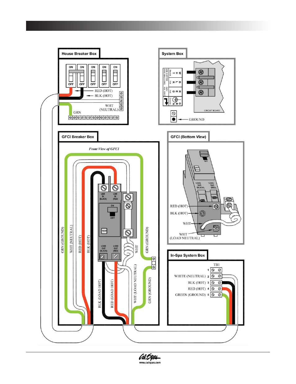 cal spa wiring diagram install go cal spa wiring diagram