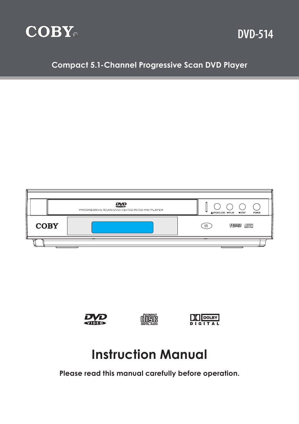 coby dvd 514 manual free owners manual u2022 rh wordworksbysea com coby instruction manual coby mp620-4g user manual