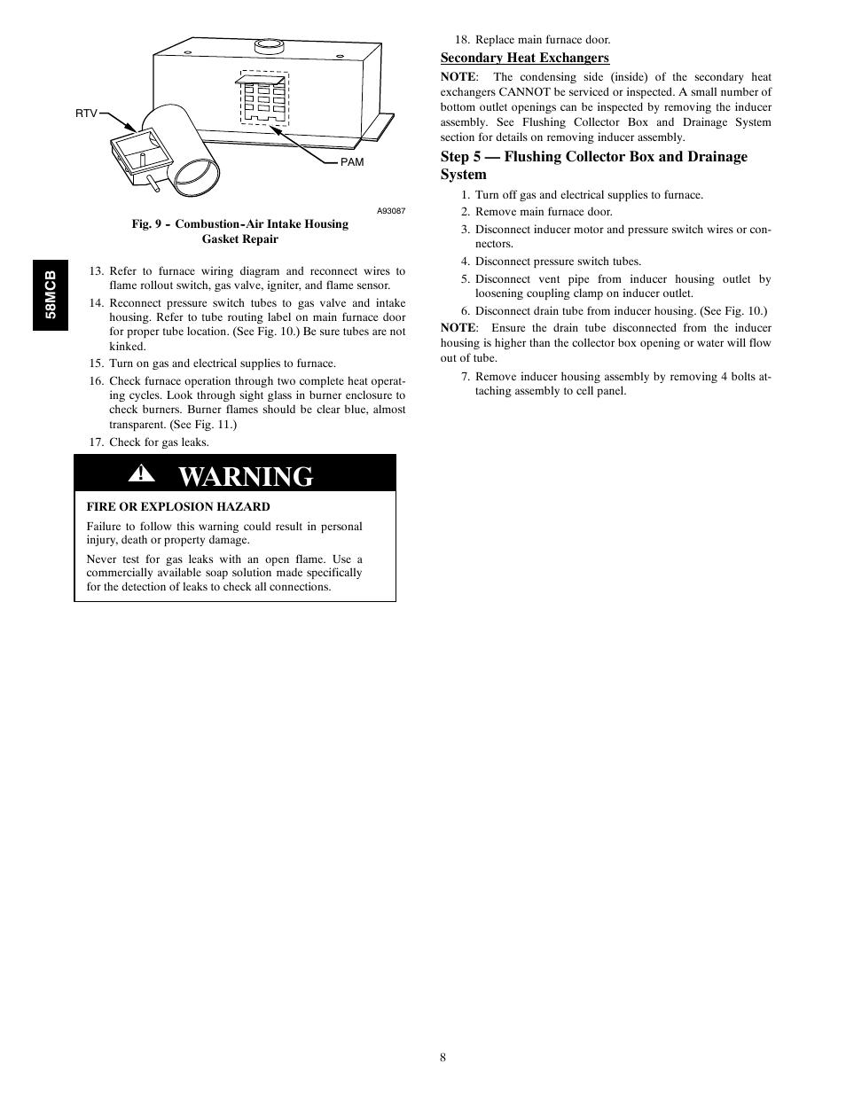 Carrier 58mcb manual