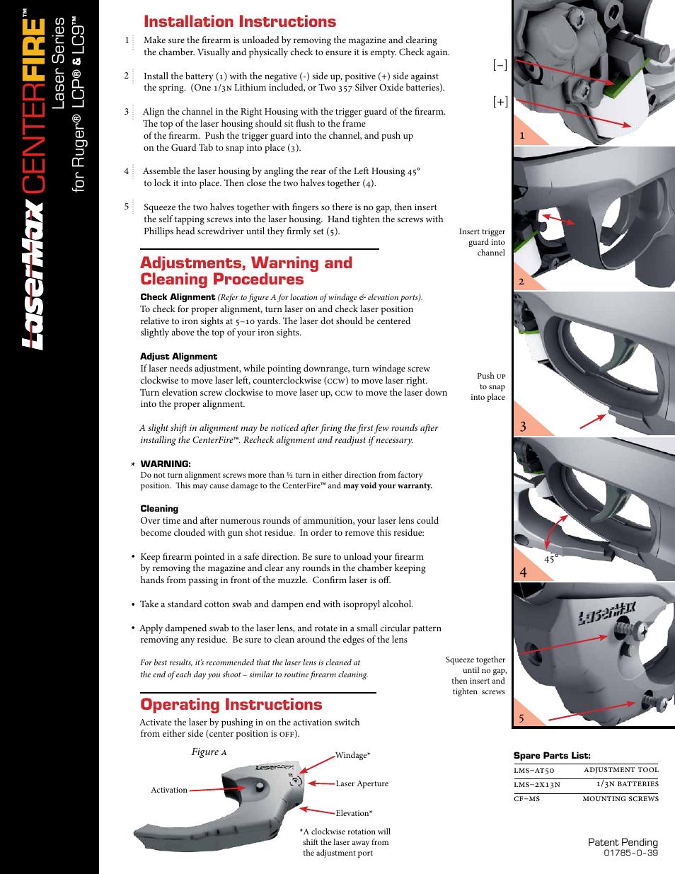 Lasermax glock guide rod installation for beretta pistols youtube.