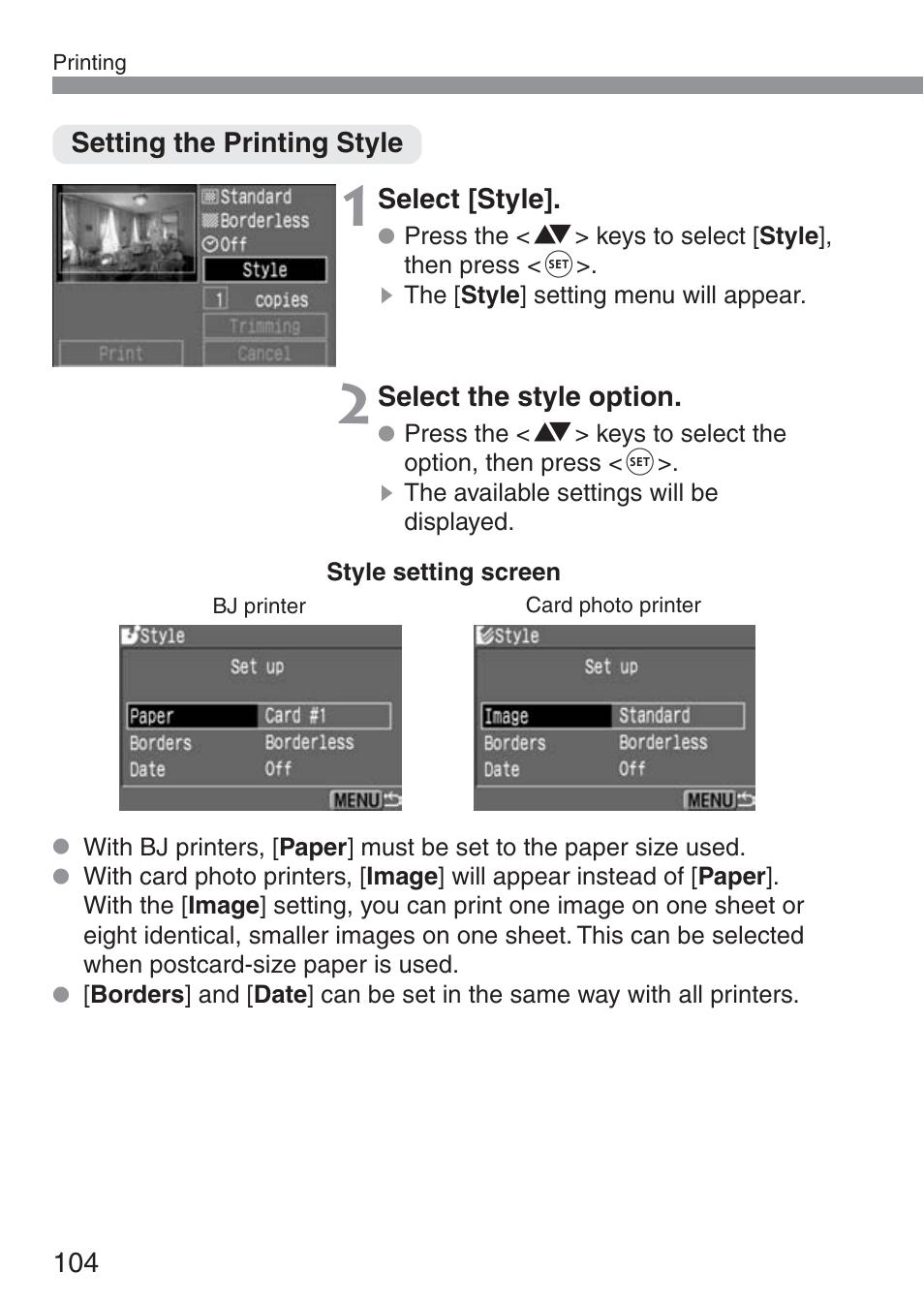 canon ds6041 user manual page 104 140 original mode also for rh manualsdir com
