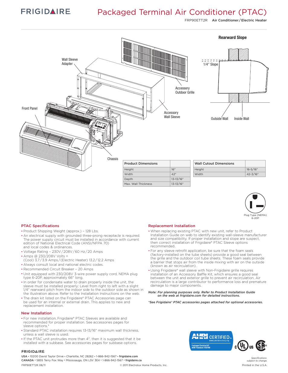 20 amp wiring diagram for ptac wiring diagram libraries 20 amp wiring diagram for ptac wiring librarypackaged terminal air conditioner ptac rearward