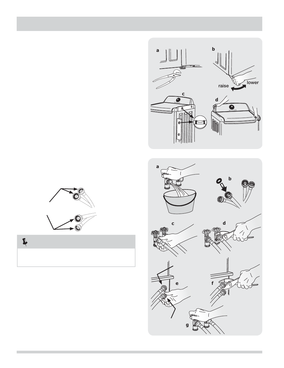 installation instructions frigidaire affinity washer fahe1011mw rh manualsdir com frigidaire affinity washer owners manual frigidaire affinity washer user manual