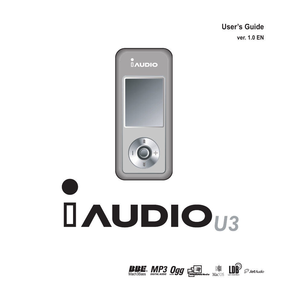cowon systems iaudio u3 user manual 68 pages rh manualsdir com Cowon iAudio 10 Review Cowon iAudio 9
