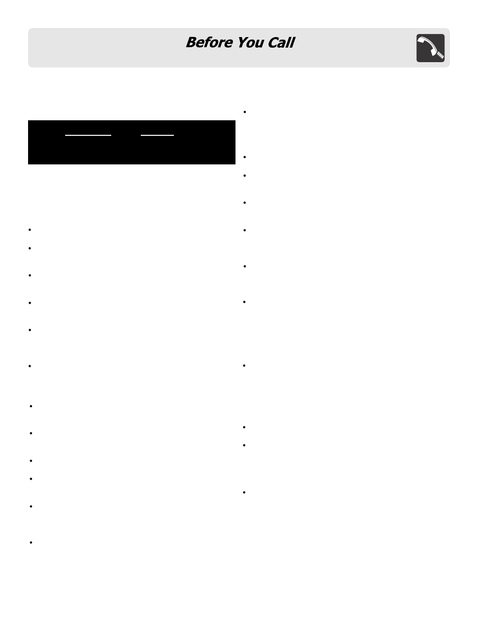 Troubleshooting guide | FRIGIDAIRE FFCT1278LS User Manual | Page 29 / 30