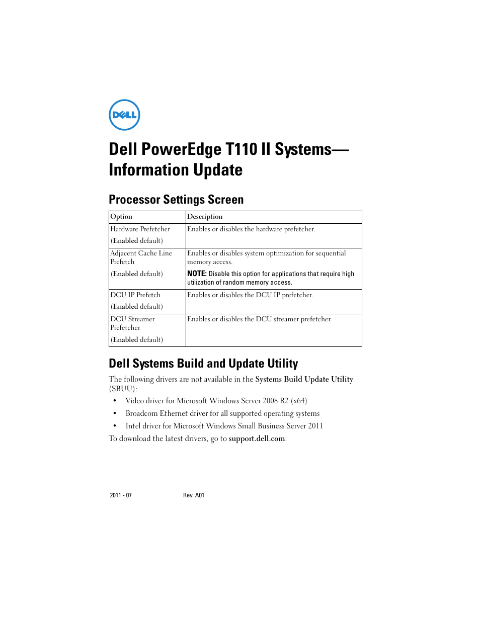 dell driver update utility poweredge