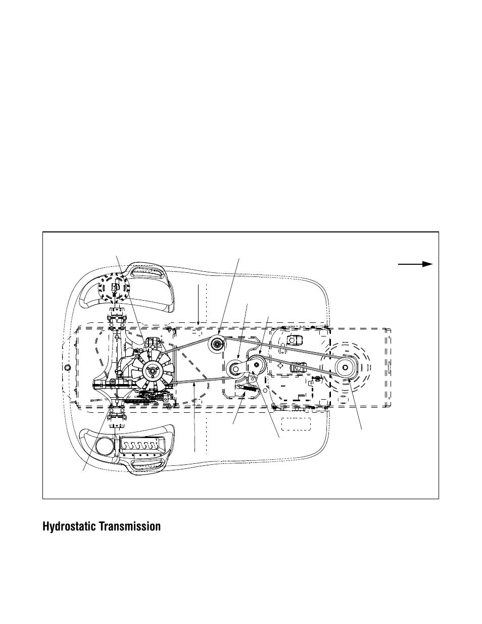 hydrostatic transmission | cub cadet lt1024 user manual | page 23 / 28