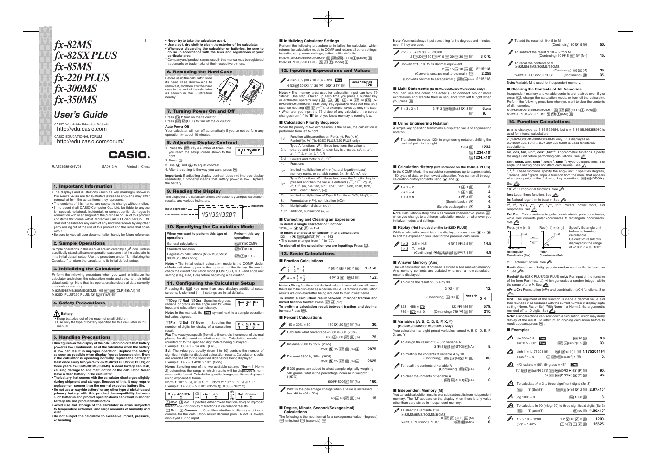 casio fx 300ms user manual 2 pages also for fx 82ms fx 350ms rh manualsdir com casio fx-82ms manuale italiano manual casio fx 82ms