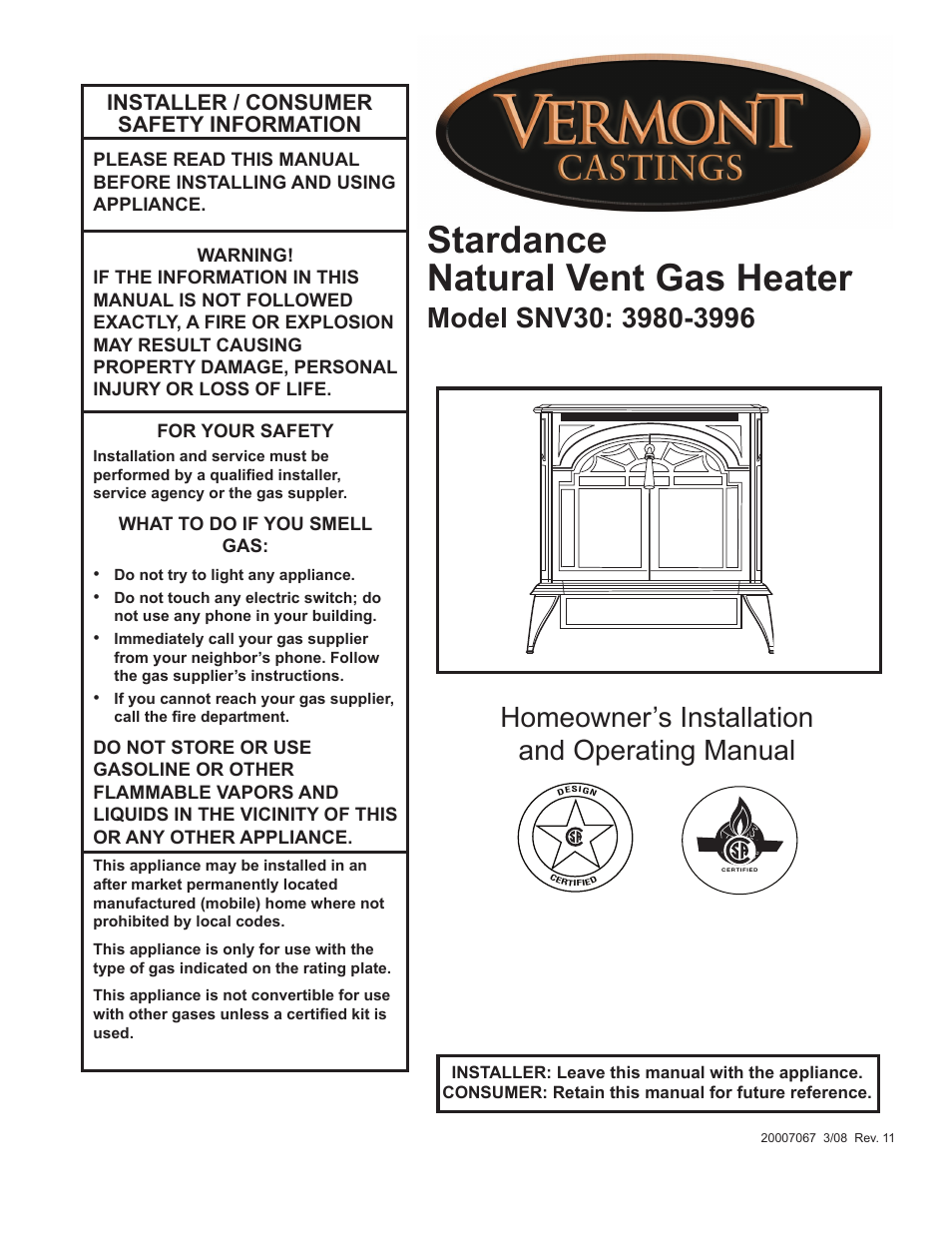 Vermont Castings Majestic Gas Fireplace Manual Fireplaces