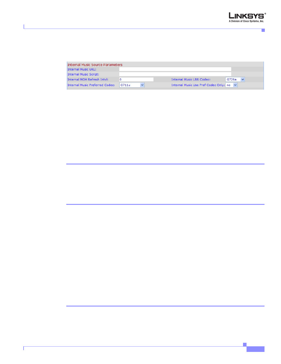 Restoring the default internal music source, Figure 4-14