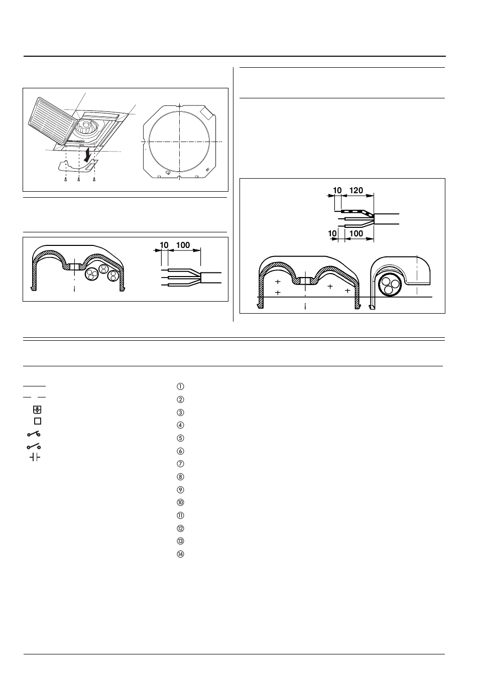 carrier 42gw page13 42 gw, wiring diagram legend electrical connections, connections carrier wiring diagram at crackthecode.co