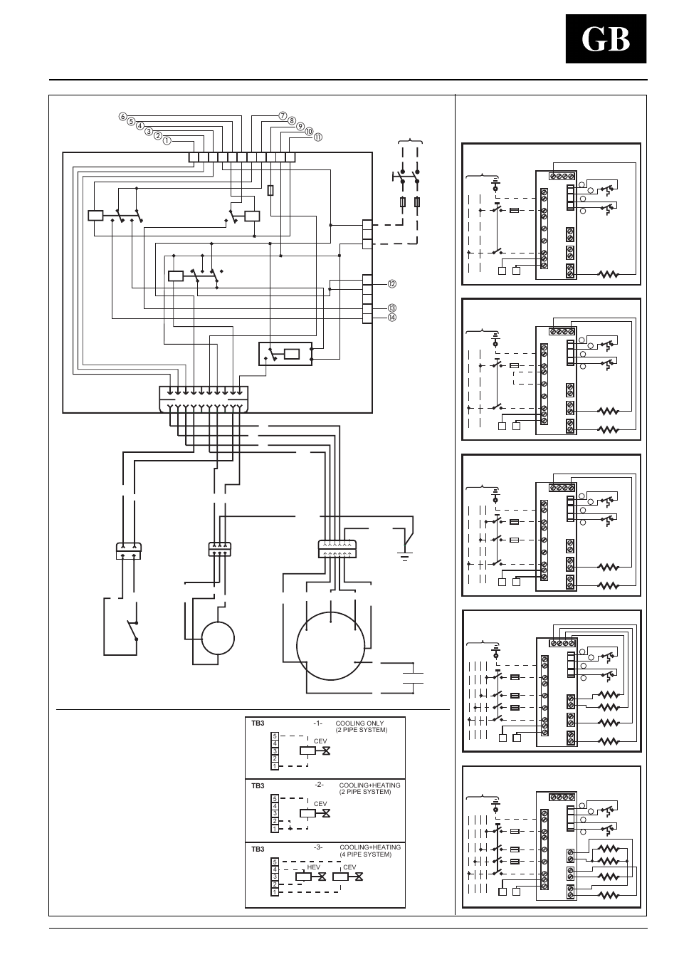 42 Gw  Electric Heater Supply  Wiring Diagram  Standard