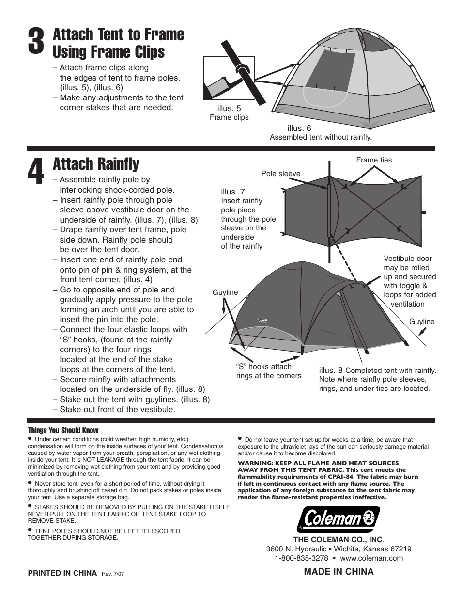 Coleman User Manual Daily Instruction Manual Guides