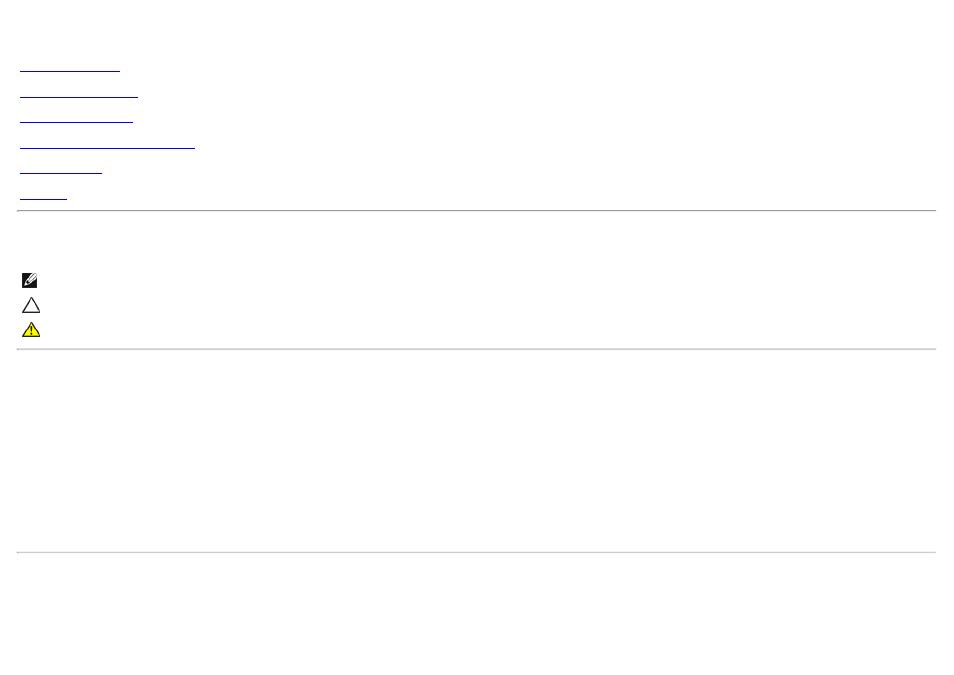 Dell u2913wm flat panel monitor user's guide, Dell™ u2913wm