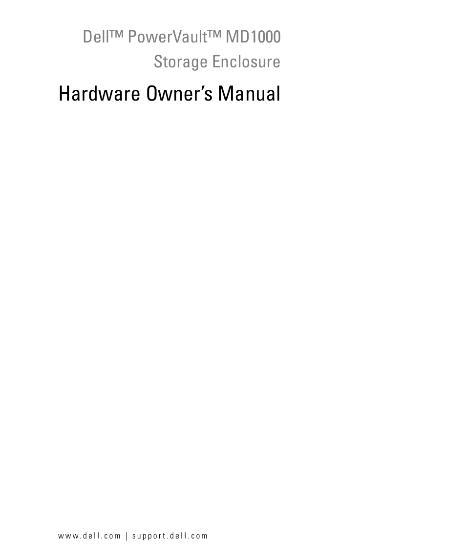 dell powervault md1000 user manual 64 pages rh manualsdir com PowerVault MD 1000 Dell MD1000 Software