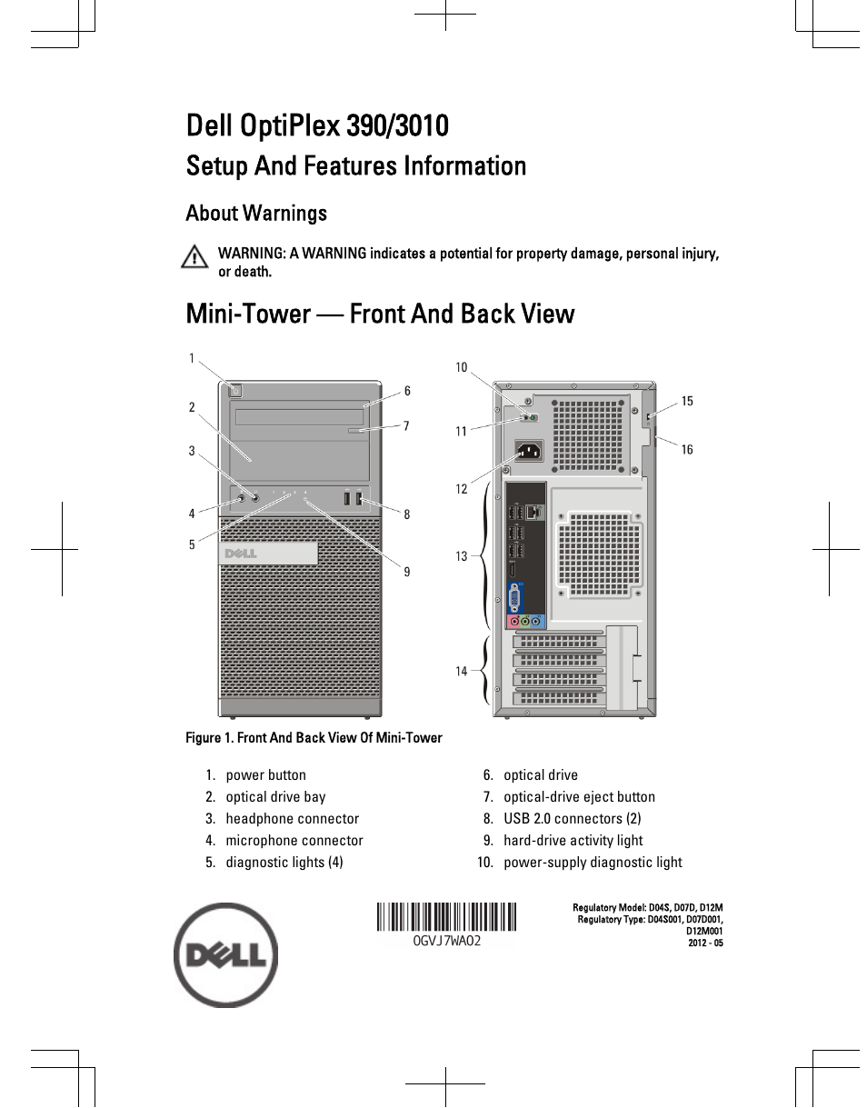 dell optiplex 755 sff manual