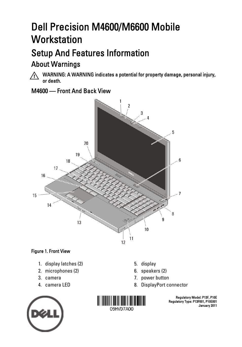 Dell precision m4600 specs