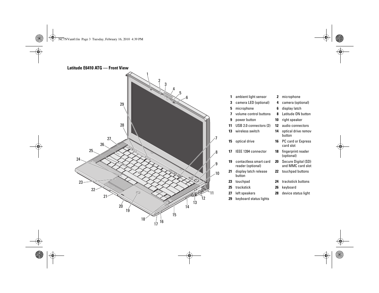 Dell Latitude E6410 User Manual | Page 3 / 8 | Original mode | Also