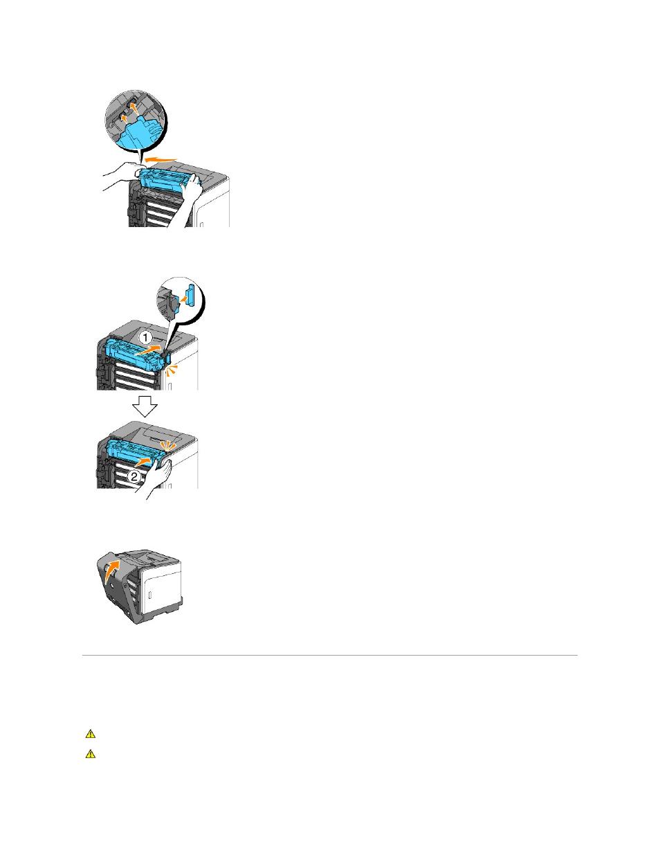 Replacing separator roller   Dell 1320c Network Color Laser Printer User  Manual   Page 111 /