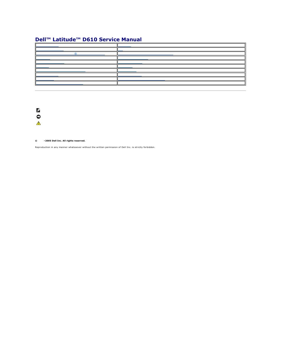 DELL LATITUDE D610 USER MANUAL PDF DOWNLOAD