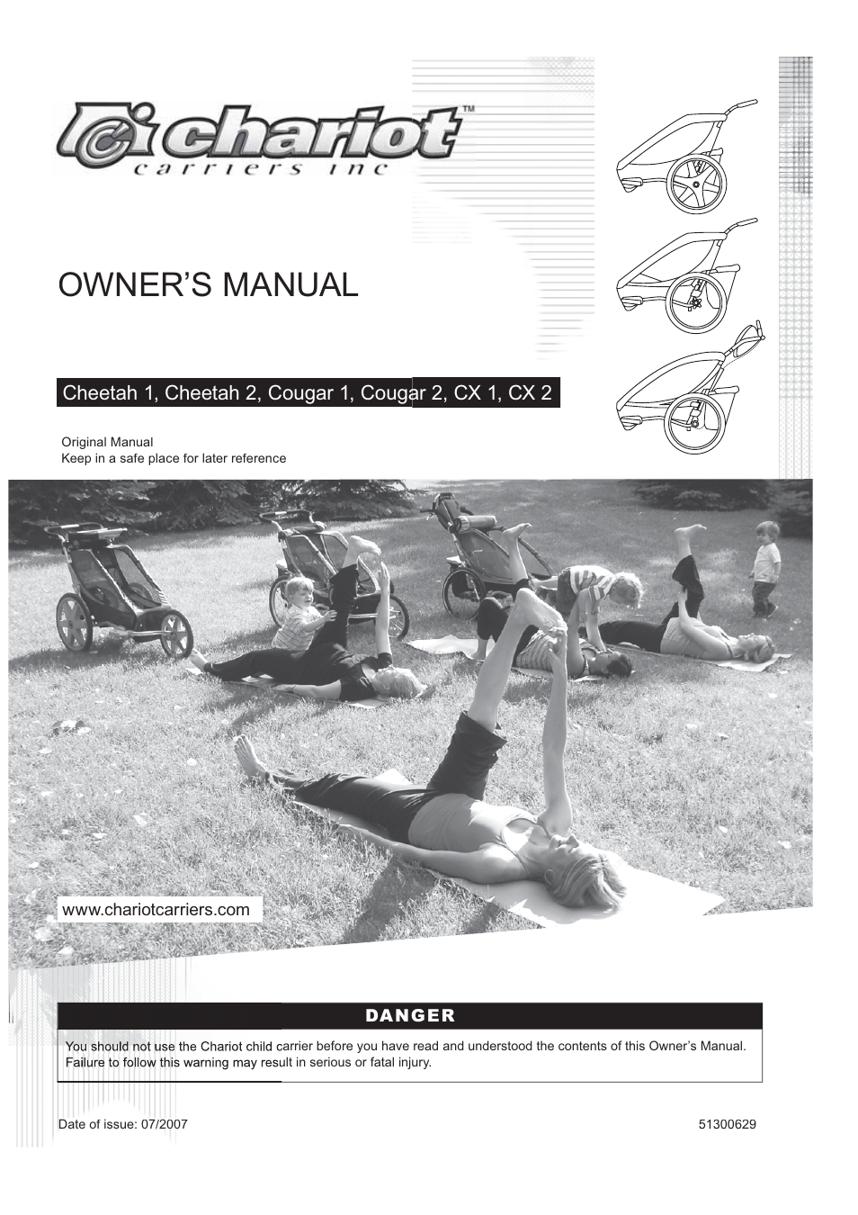 chariot carriers cx 1 user manual 52 pages also for cx 2 rh manualsdir com Example User Guide User Guide Template