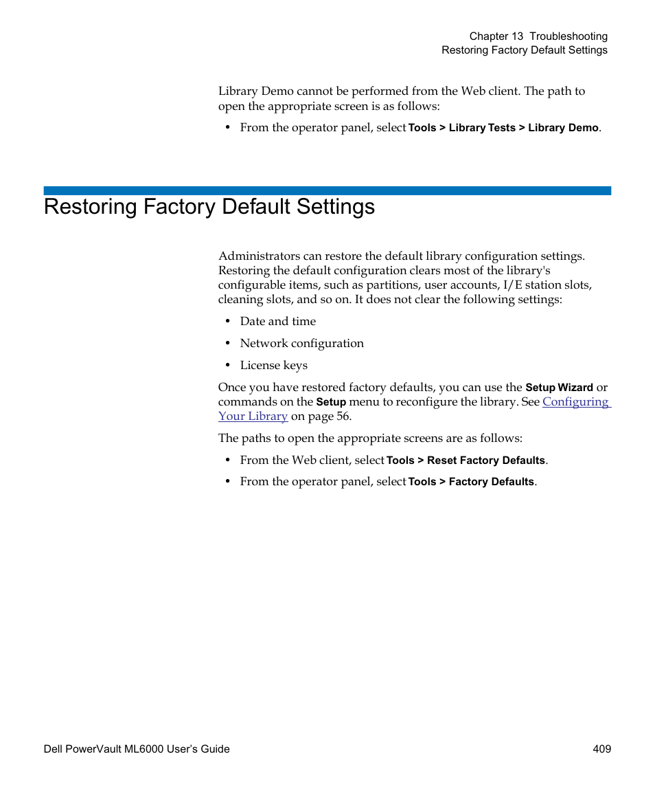 dell restore factory settings key
