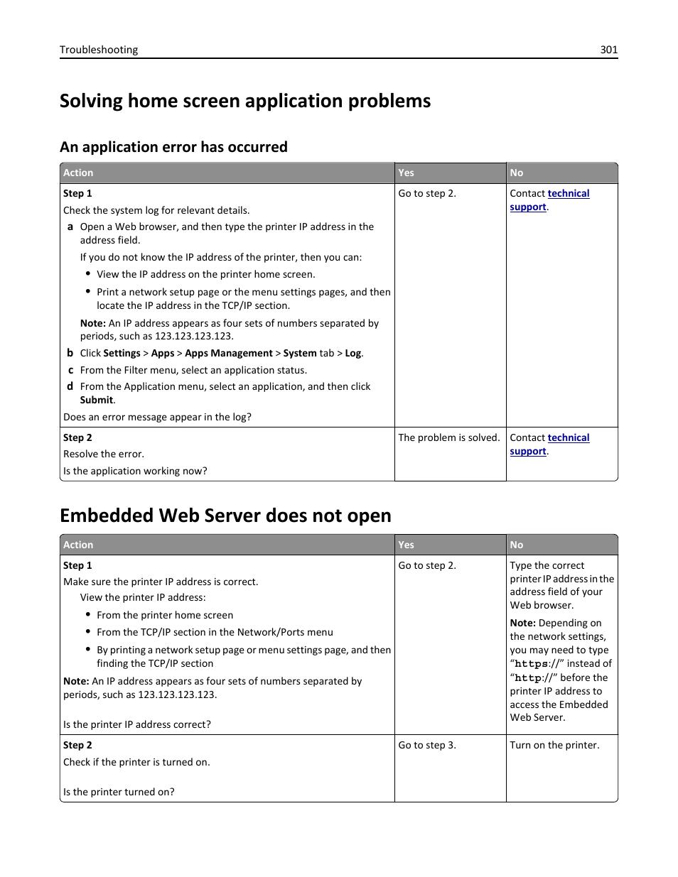 solving home screen application problems an application error has rh manualsdir com Operators Manual open embedded user manual