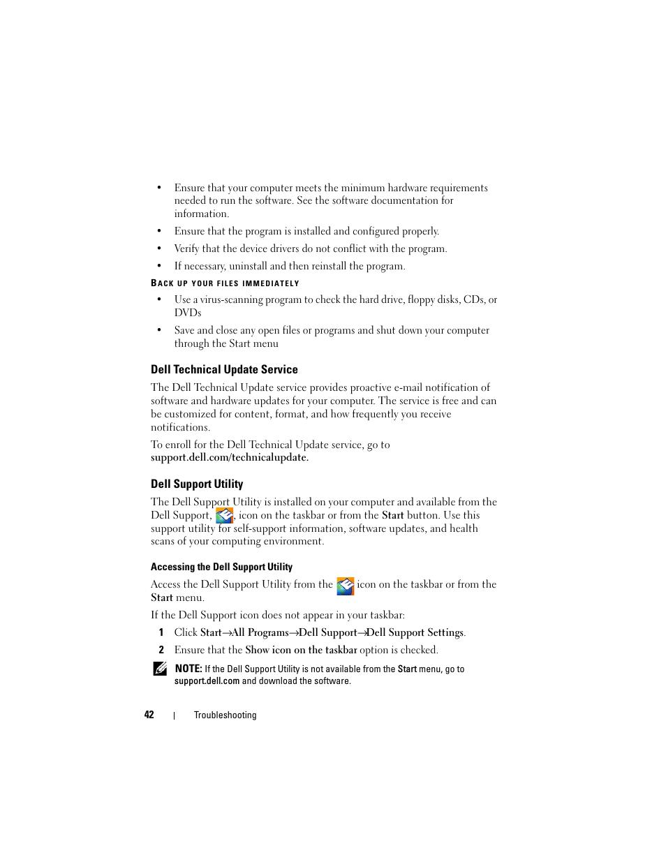 Dell Latitude E5500 User Manual   Page 42 / 66