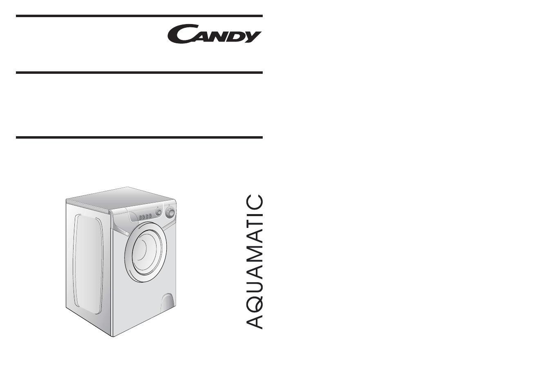 Candy aqua 1000t инструкция
