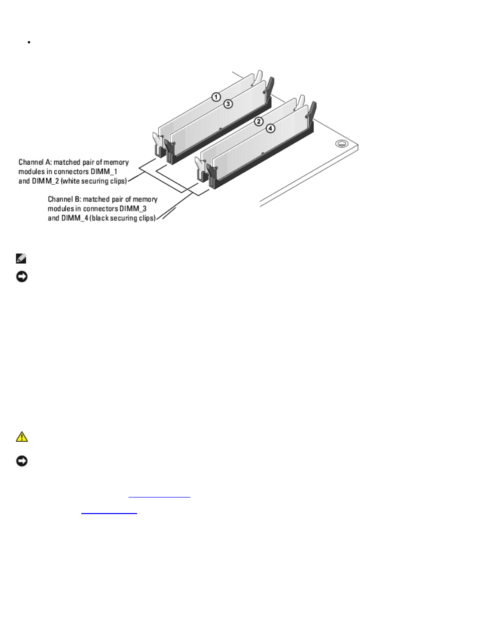 memory modules dell dimension 9150 xps 400 user manual page 33 rh manualsdir com Dell XPS 400 Ram XPS 400 Motherboard