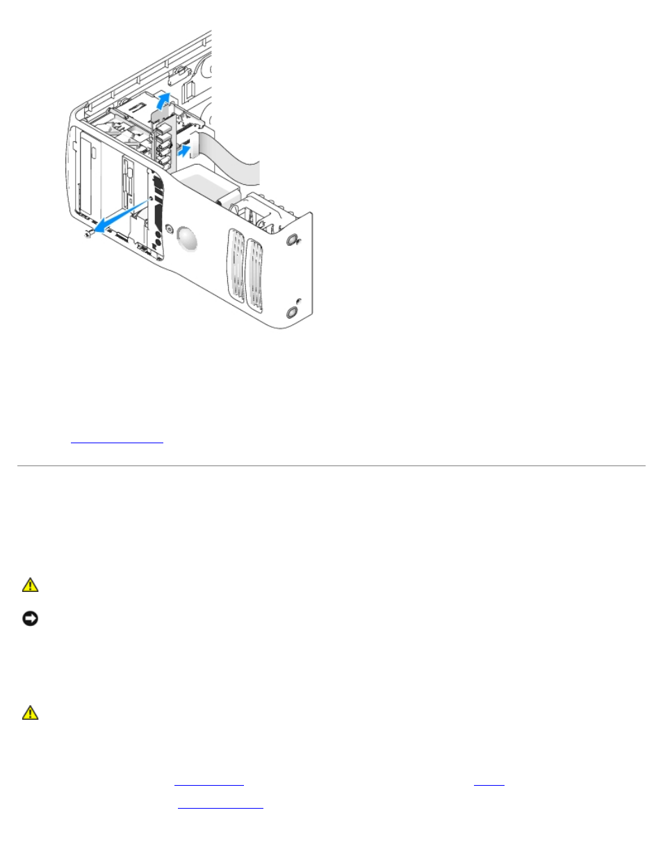 battery replacing the i o panel replacing the battery dell rh manualsdir com Dell Dimension 9150 Ram Dell Dimension 9150 Blinking Amber