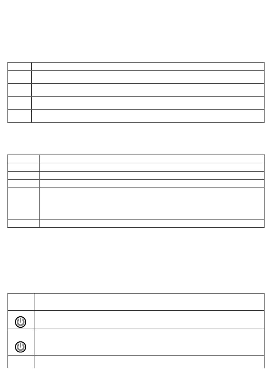 Power button light codes, Dell diagnostics main menu | Dell