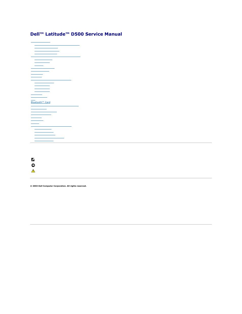 dell latitude d500 user manual 40 pages rh manualsdir com Dell Inspiron 600M Dell Inspiron E1505