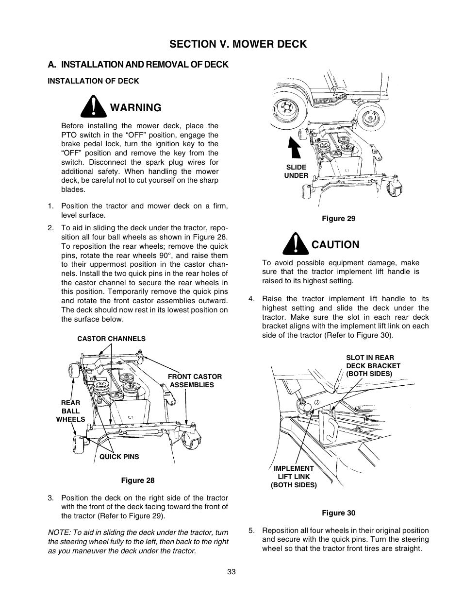 2206 Cub Cadet Wiring Schematic Trusted Schematics Diagram For 782 Warning Caution User Manual Page 33 60