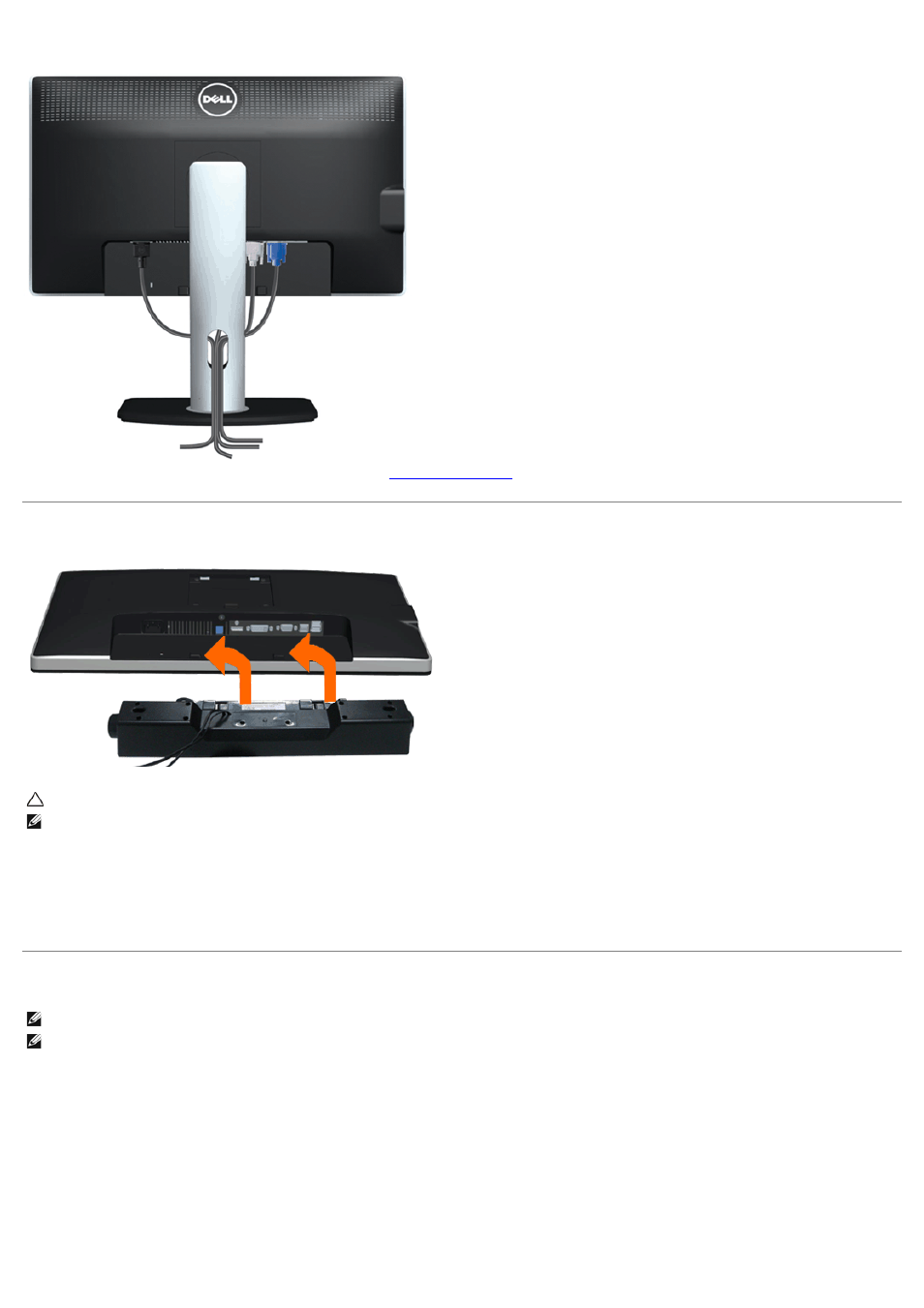 Dell u2312hm monitor quick start manual free pdf download (1 pages).