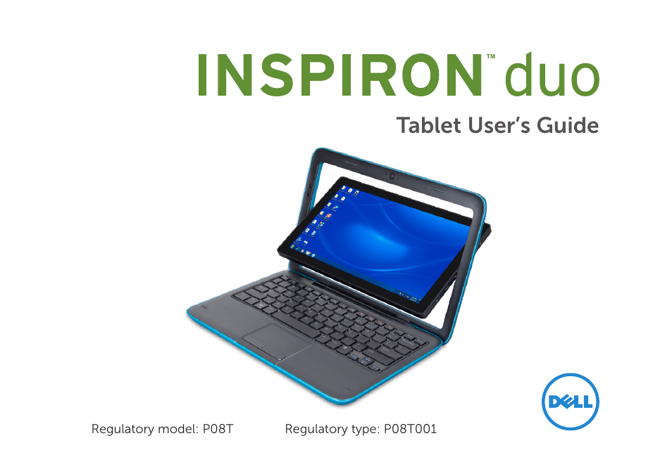 dell inspiron mini duo 1090 late 2010 user manual 56 pages rh manualsdir com Dell Tablet Windows 8 Dell Tablet Windows 8