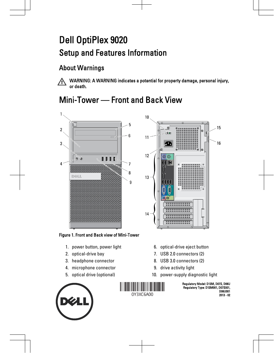 Dell Optiplex 9020 Motherboard Manual - Best Pictures Of Dell