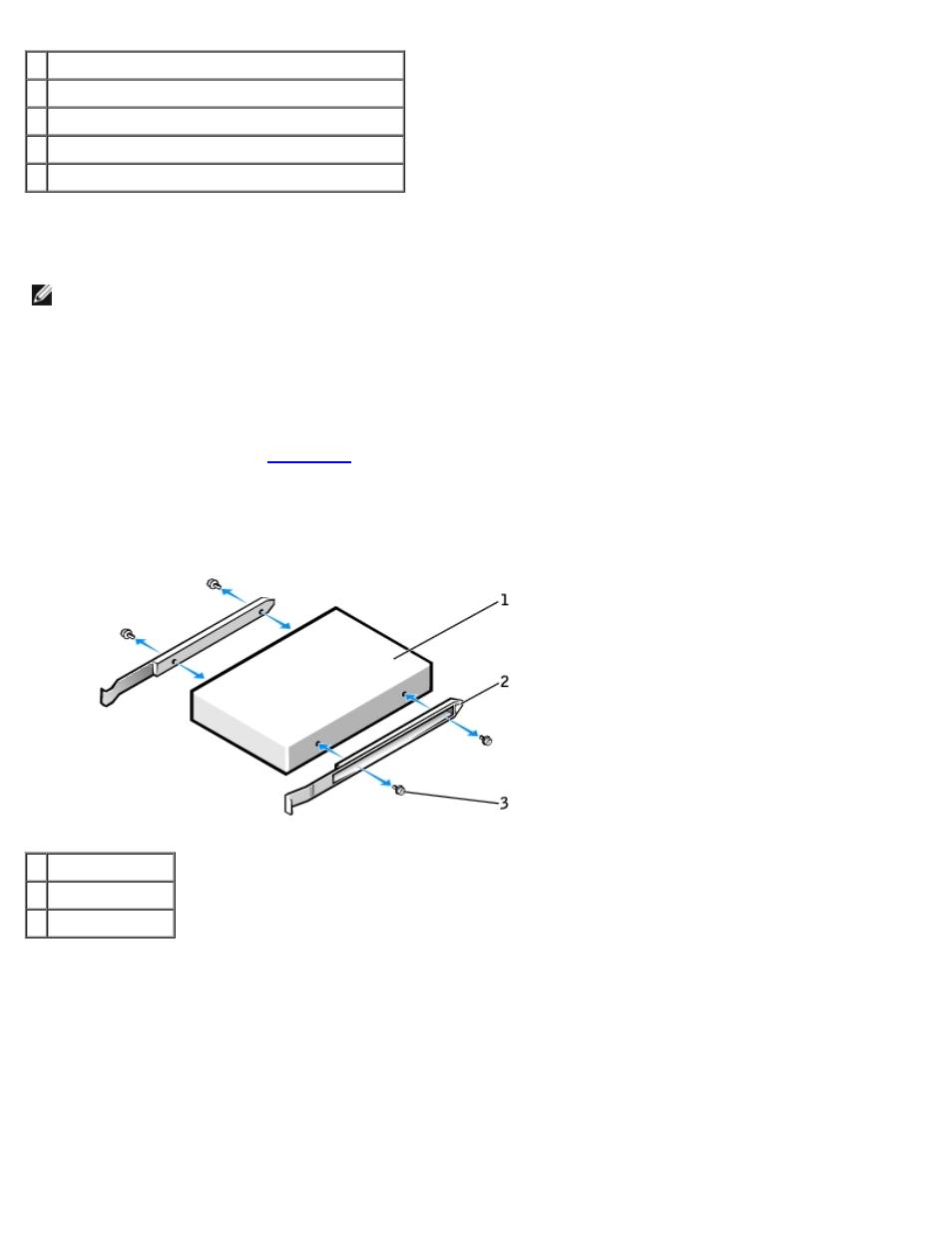 Installing a cd/dvd drive | Dell Precision 470 User Manual