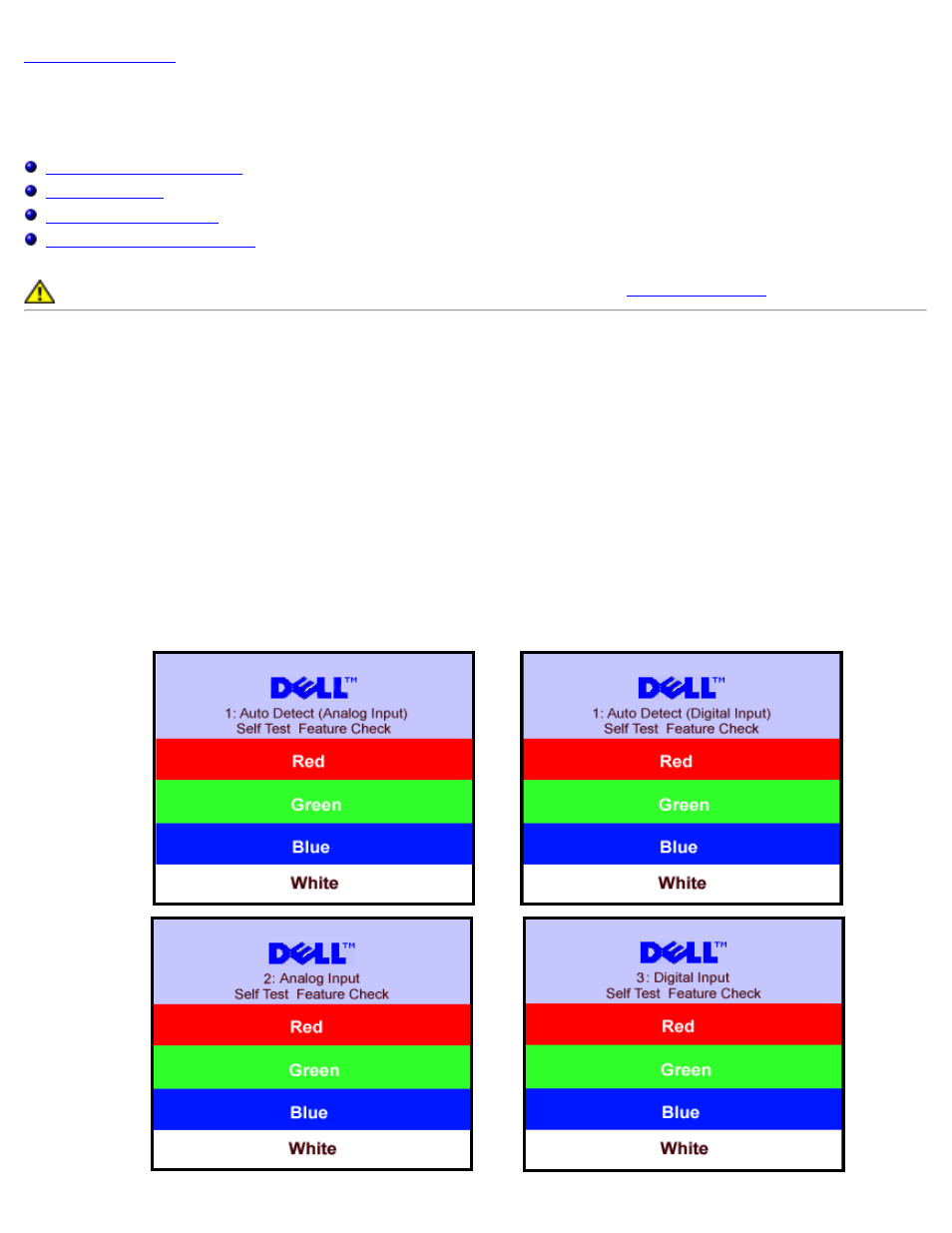 Troubleshooting your monitor, Solving problems | Dell