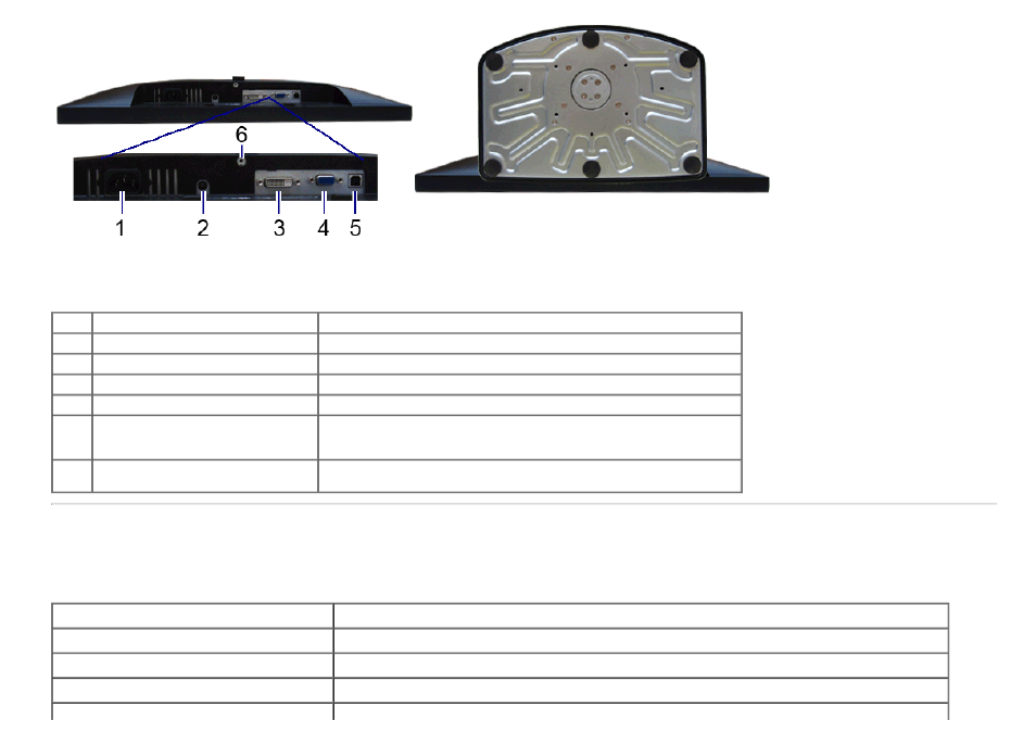 monitor specifications  flat panel specifications