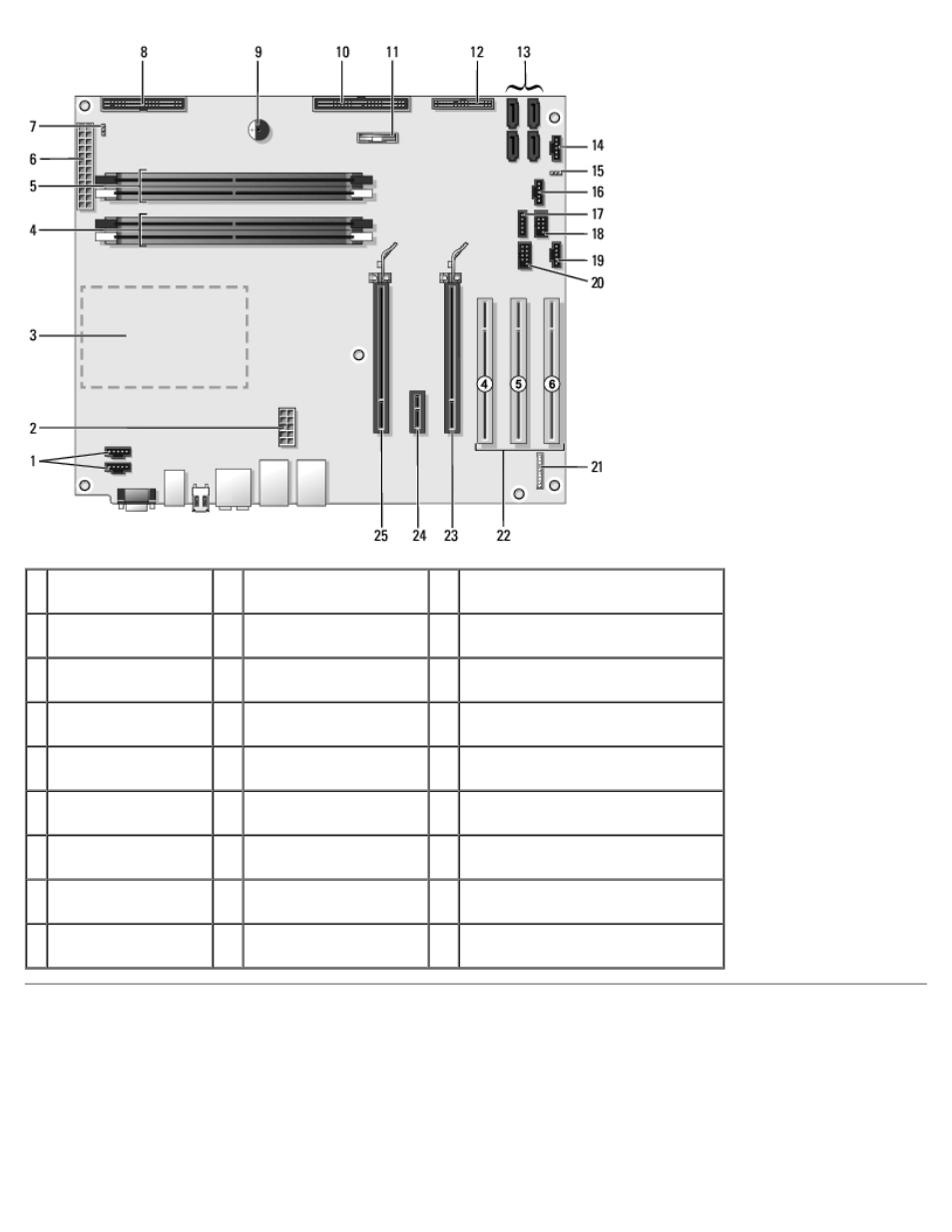 power supply dc connector pin assignments dell xps 600 user manual rh manualsdir com Dell XPS WHL Dell XPS 600 Motherboard