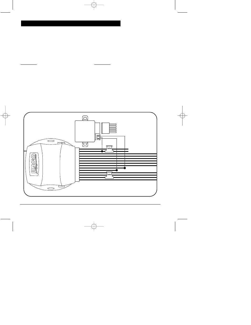Ungo Car Alarm Wiring Diagram Trusted Diagrams Optional Dlrm Door Lock Relay Module Clarion Ms3001 User K9